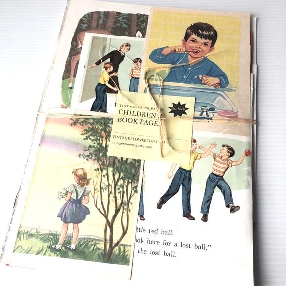 Childrens Paper Craft Ephemera Scrap Smashbook